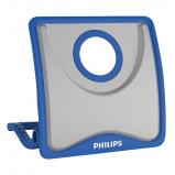 Afbeelding van Philips oplaadbare bouwlamp PJH20 led 230 Volt 2300lm blauw/grijs