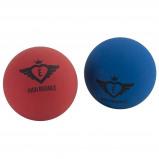 Afbeelding van Angel Sports High Bounce ballen 6 cm blauw/rood 2 stuks