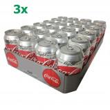 Afbeelding van Coca Cola Light 72 x 330 ml