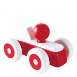 Afbeelding van Hape houten raceauto 15 cm rood