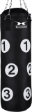 Afbeelding van Hammer Boxing Punching bag Sparring met nummers, black, 80x30 cm