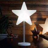 Afbeelding van 8 Seasons mooie LED decoratielamp Shinig Window Star, polyethyleen, energie efficiëntie: A, B: 29.5 cm, H: 31 cm