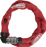 Image of Abus 1200 Combination Chain Lock (Frame colour: red)