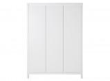 Afbeelding van Bopita 3 deurskast Corsica wit