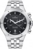 Afbeelding van Edox 10110 3M AIN herenhorloge zilver edelstaal