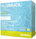 Afbeelding van Fluimucil Pastille 200mg Zuigtabletten 20st
