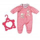 Afbeelding van Baby Annabell kledingset roze 2 delig 43 cm