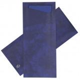 Afbeelding van Bestekzakjes Donkerblauw met servet