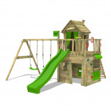 Image of Fatmoose Climbing frame CrazyCat Comfort XXL with Swing