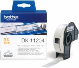 Bild av Brother DK11204 etiketter 17 x 54mm 400 etiketter Brother DK11204 original