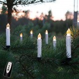 Afbeelding van Best Season startset snoerloze LED kaarsen v. buitengebruik, kunststof, 0.06 W, H: 13 cm