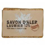 Afbeelding van Aleppo Soap Co Savon D'Alep Zeep met 12% Laurier