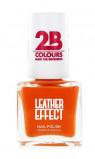 Afbeelding van 2B Nagellak Leather Effect 616 Orange