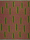 Abbildung von Vlisco VL01416.015.02 Pink/Yellow African print fabric Wax Hollandais Decorative