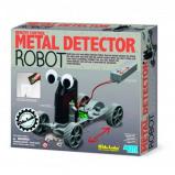 Afbeelding van 4M KidzLabs Metaaldetector Robot