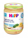 Afbeelding van Hipp Maaltijd 8 mnd Tagliatelle met Groente en Vis 190 gr