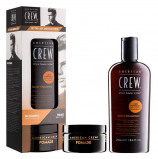 Afbeelding van American Crew Daily Shampoo 2 & Pomade 85gr. Set