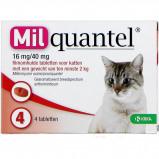 Abbildung von Wurmtabletten 16mg/40mg Katze Gross 2 Tabletten >2kg