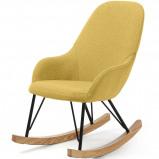 Afbeelding van LaForma Ivette kinderschommelstoel geel