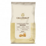 Afbeelding van Callebaut Bakvaste Chocolade Druppels L Wit 2,5 kg.