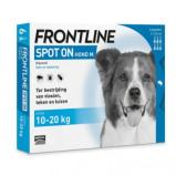 Image of Frontline Spot On Hond M 10 20 kg 6 pipet actie...