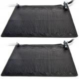 Afbeelding van Intex Verwarmingsmat op zonne energie 2 st 1,2x1,2 m PVC zwart 28685