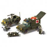 Afbeelding van Sluban Ambulance M38 B6000