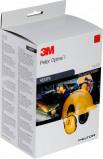 Afbeelding van 3M PELTOR G500V5FH510 GU Gezichtbeschermingskap combinatie met Optime I gehoorkap en 5F 11 Vizier geel