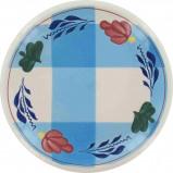 Afbeelding van Boerenbont & bonter gebak 16cm blauwe ruit