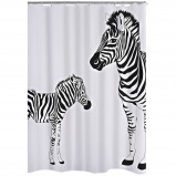 Afbeelding van RIDDER Douchegordijn Zebra 180x200 cm