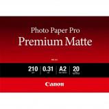 Billede af Canon PM 101 mat fotopapir A2, 210g, 20 ark (8657B017)