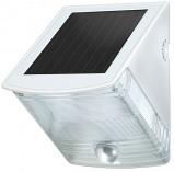 Afbeelding van Brennenstuhl led zonnecellamp voor wandmontage sol 04 plus ip44 met infrarood bewegingsmelder 2xled 0,5w 85lm