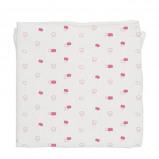 Afbeelding van Baby Bites hydrofiel doek 120x120 cm pink clouds