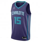 Image of Kemba Walker Icon Edition Swingman (Charlotte Hornets) Men's Jordan NBA Connected Jersey Blue