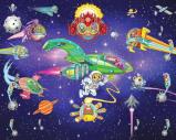 Afbeelding van Alien Adventure Kinder Fotobehang