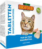Afbeelding van Biofood Kattensnoepjes Anti vlo Naturel 100 stuks