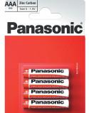 "Bilde av ""4 stk Panasonic AAA Zink Carbon Batterier"""
