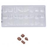 Afbeelding van Bonbonvorm Chocolate World Edelstenen (24x) 35x20x26 mm