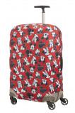Afbeelding van Samsonite Travel Accessories Kofferhoes M Spinner 69/75cm Mickey/Minnie Red