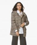 Bilde av ba&sh Coat Cox Quilted Mid length in Brown