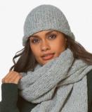 Bilde av Drykorn Beanie Kelo Slub Knitted in Grey Melange