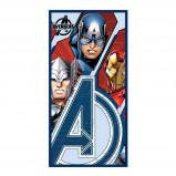 Afbeelding van Avengers strandlaken 100% katoen 70x140 cm Multi