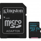 Afbeelding van Kingston 128GB SDXC 90R/45W U3 UHS I V30C+SD Adap