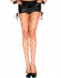 Afbeelding van Grove Netstof Panty Zwart Maat: One Size Van Musiclegs
