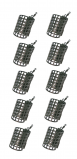 Image of 10 NGT Metal Cage Feeders (15, 20 or 25 g)