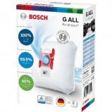 Afbeelding van Bosch BBZ41FGALL PowerProtect Stofzuigerzakken Blauw/Wit