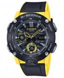Afbeelding van Casio G Shock GA 2000 1A9ER Horloge Carbon Core Guard geel 51,2 mm