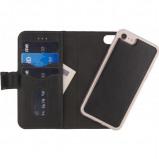 Afbeelding van Apple iPhone 8 / 7 Hoesje Mobilize Zwart Backcover Bookcase Premium 2in1 Gelly
