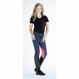 Image of HKM Breeches Disney Minnie Mouse Blue red 128