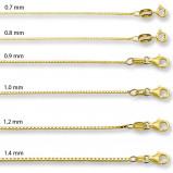 Afbeelding van 14 karaat gouden Venetiaanse kettingen 4003924
